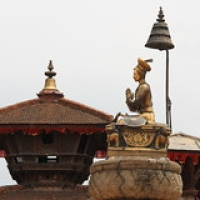 "Bhaktapur : Durbar Square • <a style=""font-size:0.8em;"" href=""http://www.flickr.com/photos/22252278@N05/21008845904/"" target=""_blank"">View on Flickr</a>"