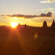 "Myanmar Bagan sunset • <a style=""font-size:0.8em;"" href=""http://www.flickr.com/photos/22252278@N05/32211983604/"" target=""_blank"">View on Flickr</a>"