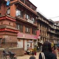 "Bhaktapur : Ganesh guesthouse • <a style=""font-size:0.8em;"" href=""http://www.flickr.com/photos/22252278@N05/21012517743/"" target=""_blank"">View on Flickr</a>"