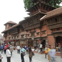 "Durbar square • <a style=""font-size:0.8em;"" href=""http://www.flickr.com/photos/22252278@N05/21792476565/"" target=""_blank"">View on Flickr</a>"