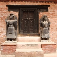 "Bhaktapur : Durbar Square • <a style=""font-size:0.8em;"" href=""http://www.flickr.com/photos/22252278@N05/21640617131/"" target=""_blank"">View on Flickr</a>"