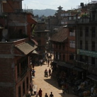 "Bhaktapur • <a style=""font-size:0.8em;"" href=""http://www.flickr.com/photos/22252278@N05/21640606011/"" target=""_blank"">View on Flickr</a>"