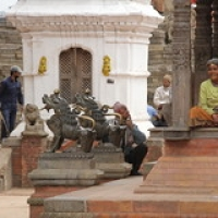 "Bhaktapur Durbar Square • <a style=""font-size:0.8em;"" href=""http://www.flickr.com/photos/22252278@N05/21631714365/"" target=""_blank"">View on Flickr</a>"