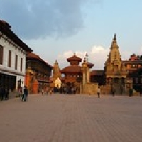 "Bhaktapur : Durbar Square • <a style=""font-size:0.8em;"" href=""http://www.flickr.com/photos/22252278@N05/21134041764/"" target=""_blank"">View on Flickr</a>"