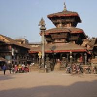 "Bhaktapur : Dattatraya Temple • <a style=""font-size:0.8em;"" href=""http://www.flickr.com/photos/22252278@N05/21443604860/"" target=""_blank"">View on Flickr</a>"
