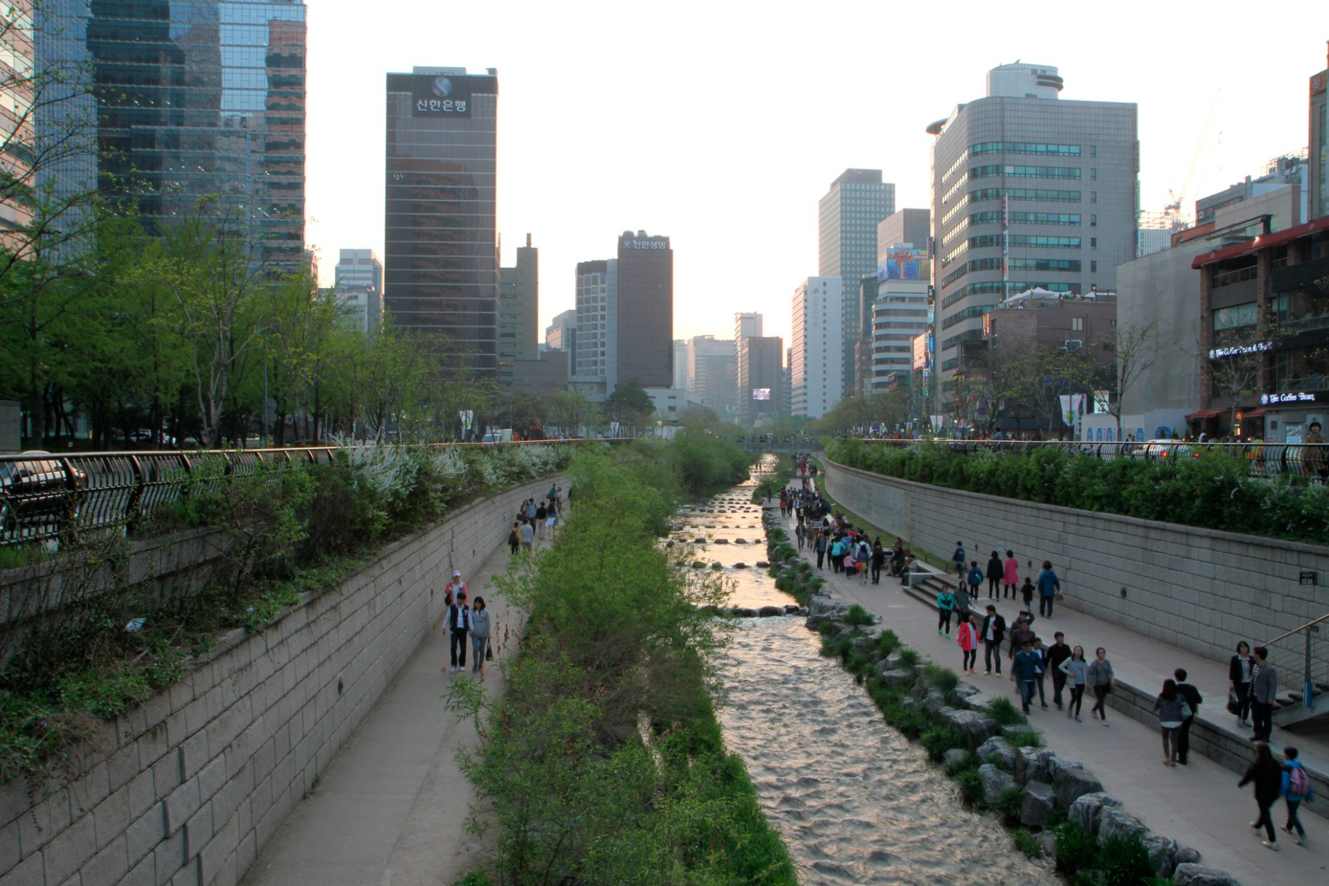 Séoul Cheonggyecheon