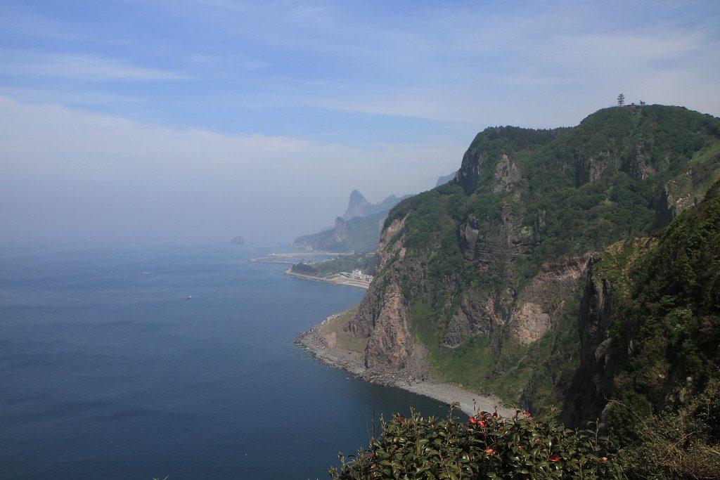 La côte d'Ulleungdo.