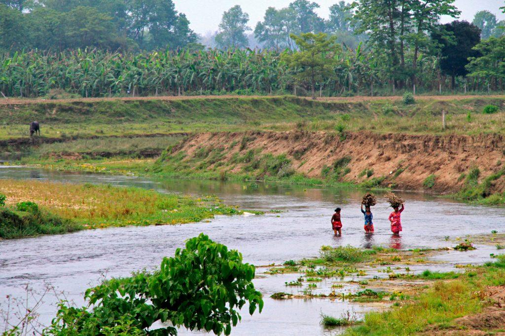 Femmes Tharu au Chitwan