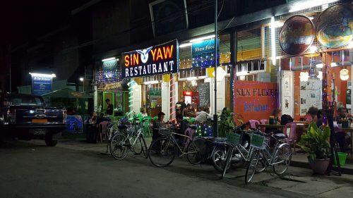 Restaurant Sin Yaw, Nyaung Shwe, Lac Inlé