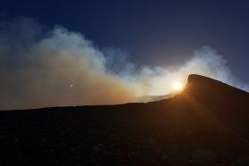 Nicaragua : volcan Telica