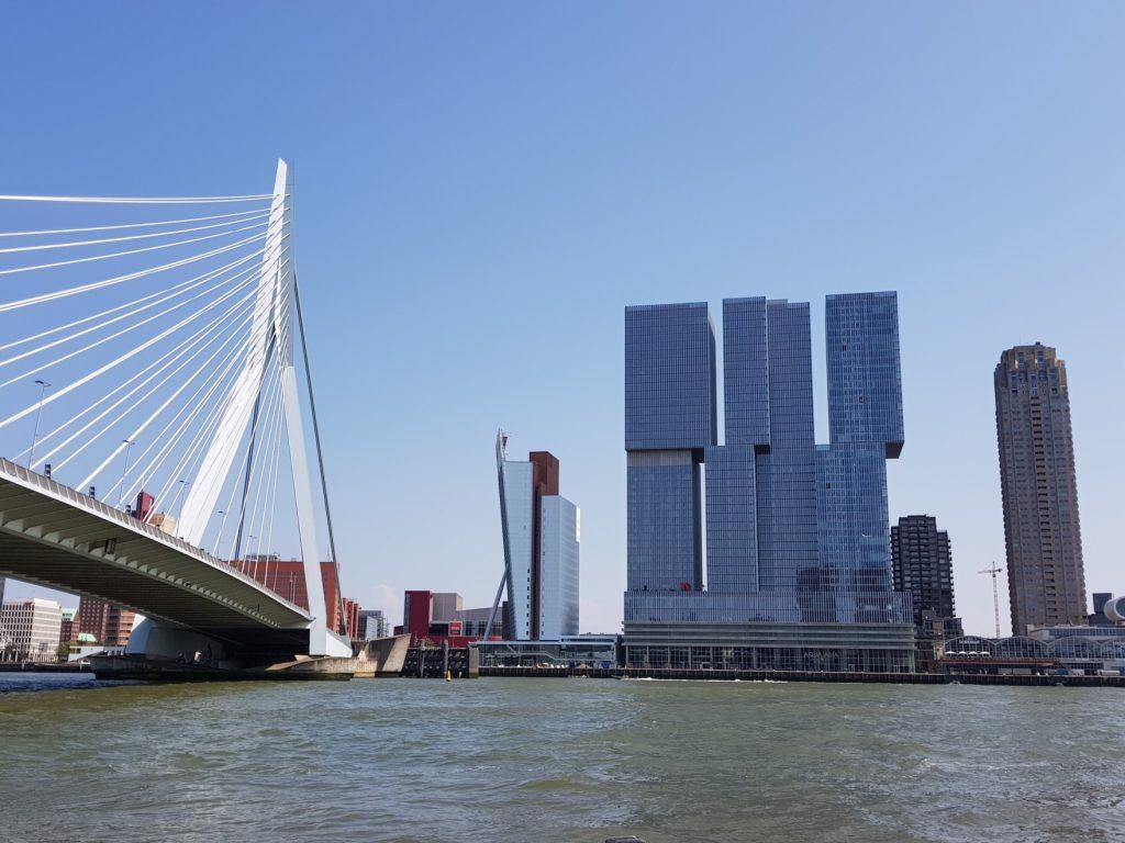 La skyline de Rotterdam