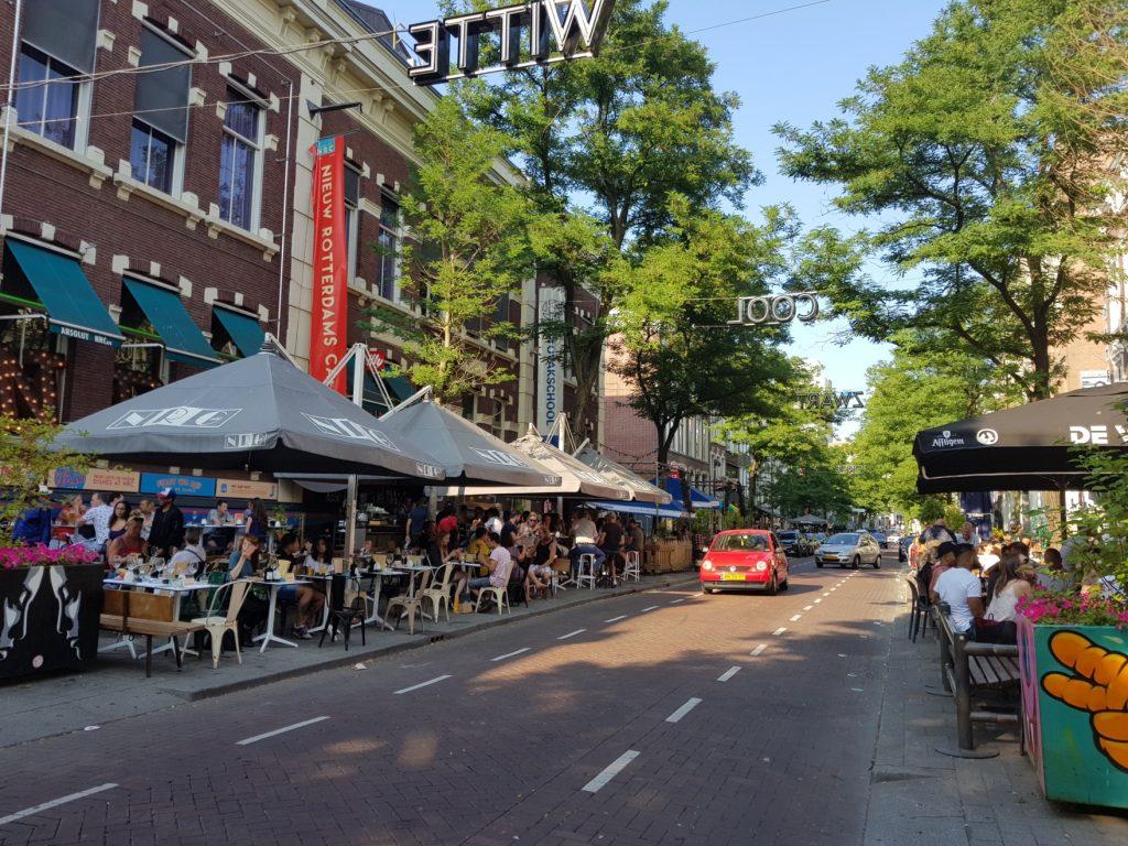 Rotterdam et ses rues animées