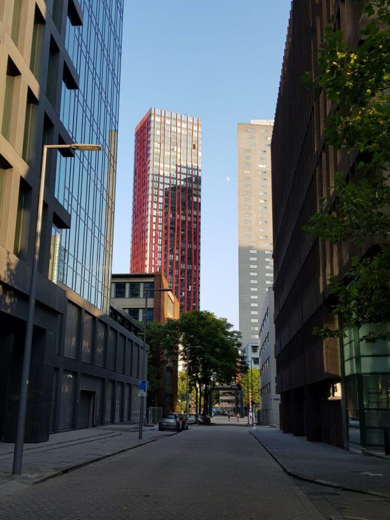 l'architecture à Rotterdam
