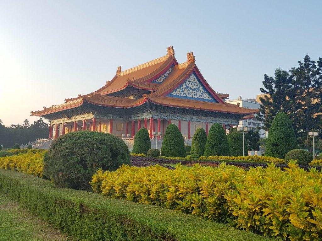 Autour du mémorial Tchang Kai Tchek, Taipeivoyage à Taiwan