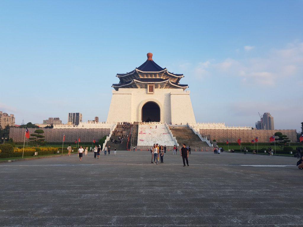 mémorial Tchang Kai Tchek, Taipei - voyage à Taiwan