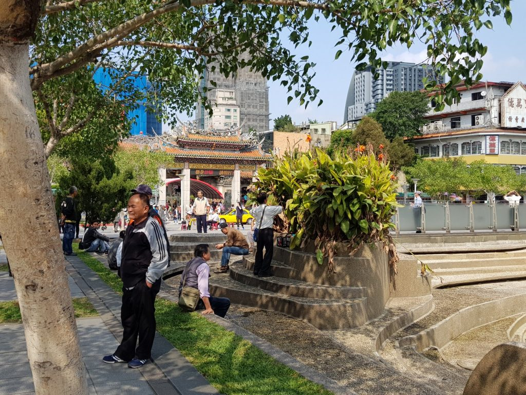 Visite du Temple Longshan, à Taipei - voyage à Taiwan