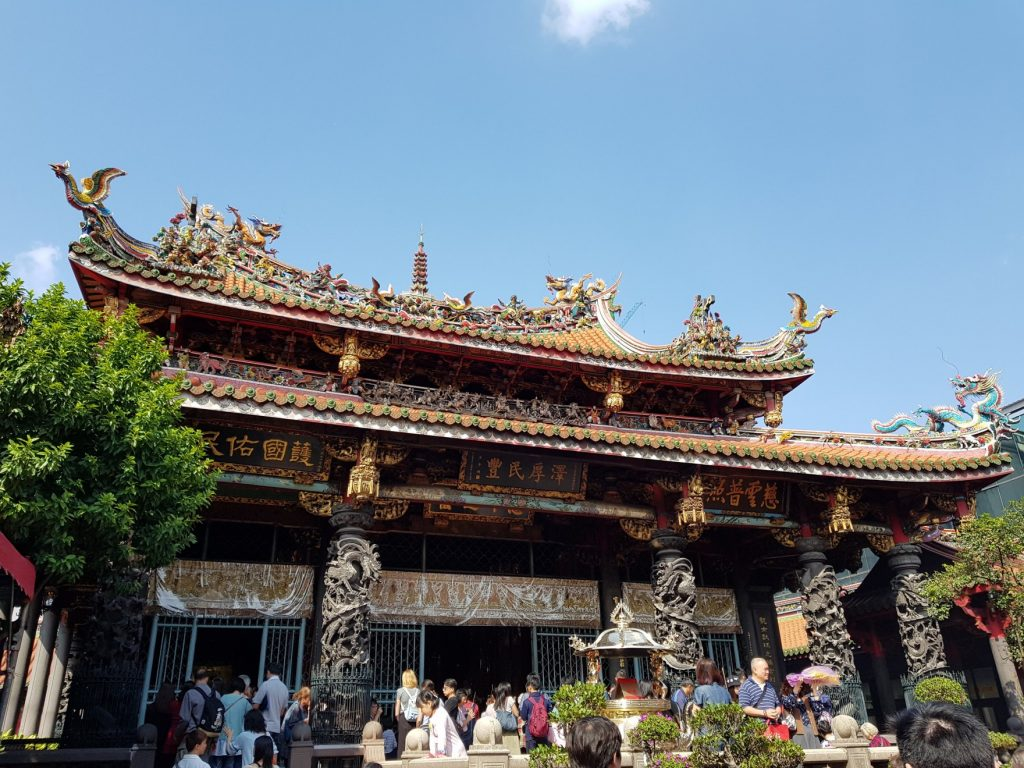 Temple Longshan, Taipei - voyage à Taiwan