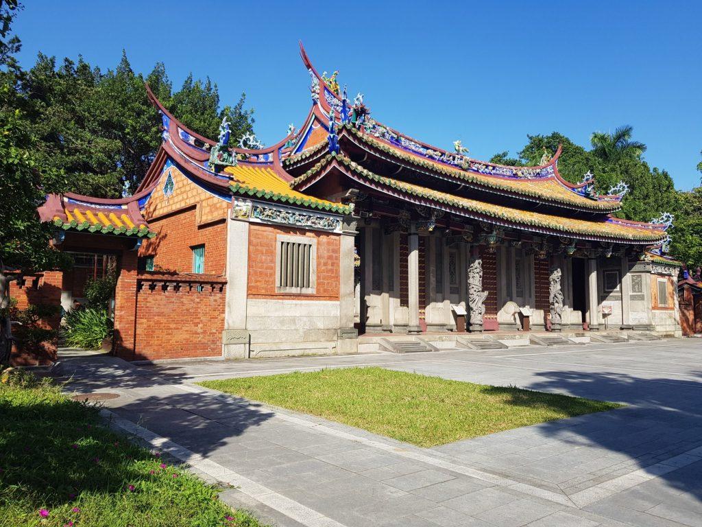 Temple de Confucius, Taipei. Voyage à Taiwan