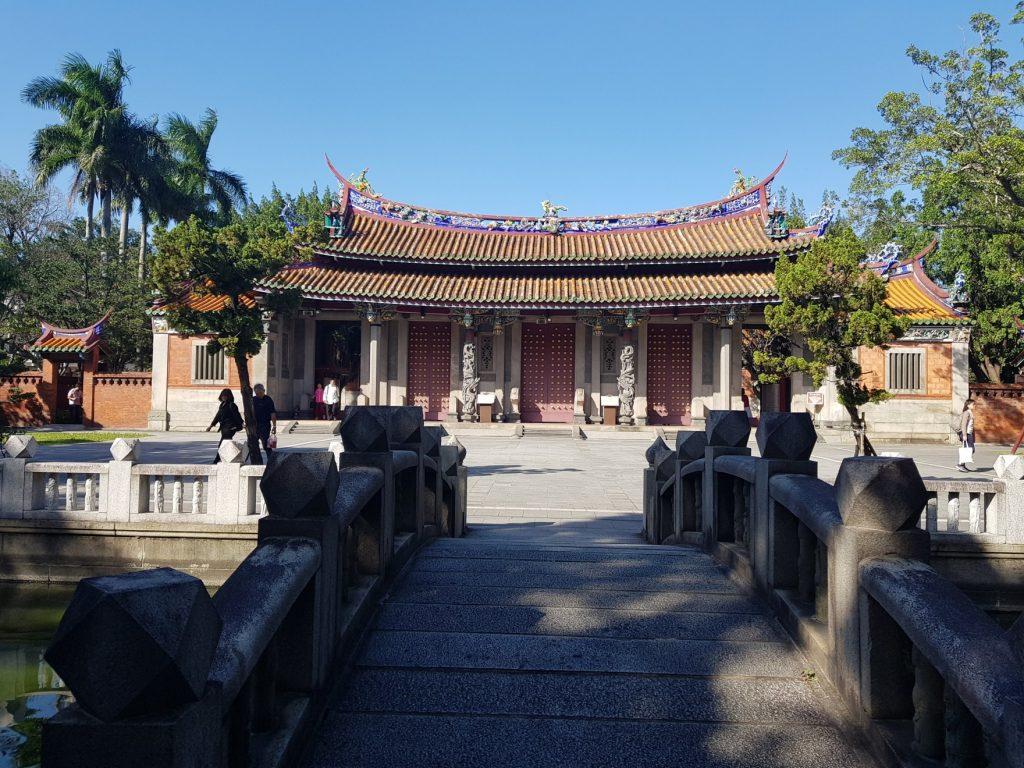 Temple de Conficius  Taipei. Voyage à Taiwan