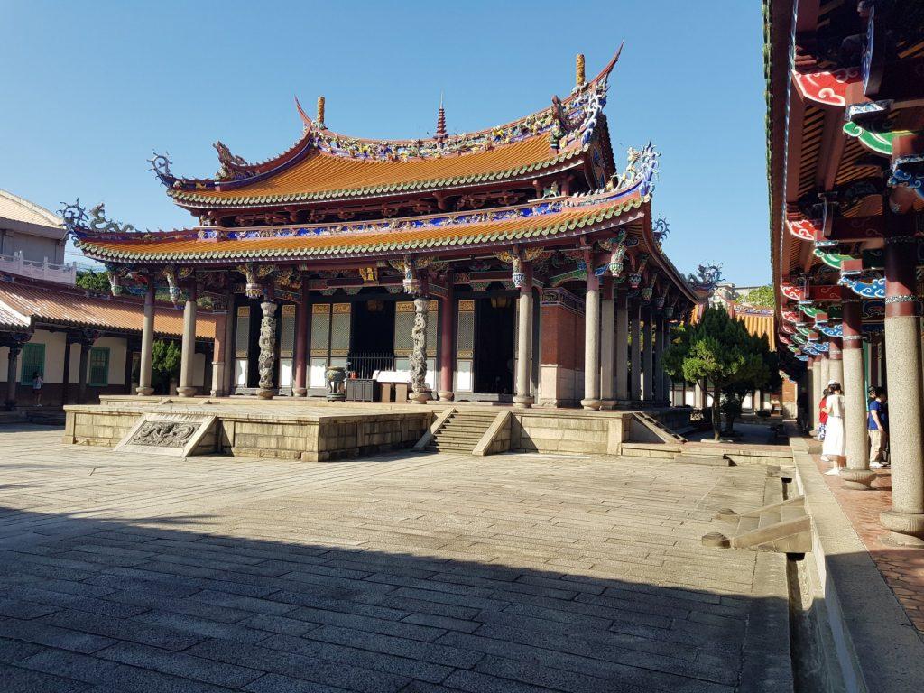 Temple de Confucius  Taipei. Voyage à Taiwan