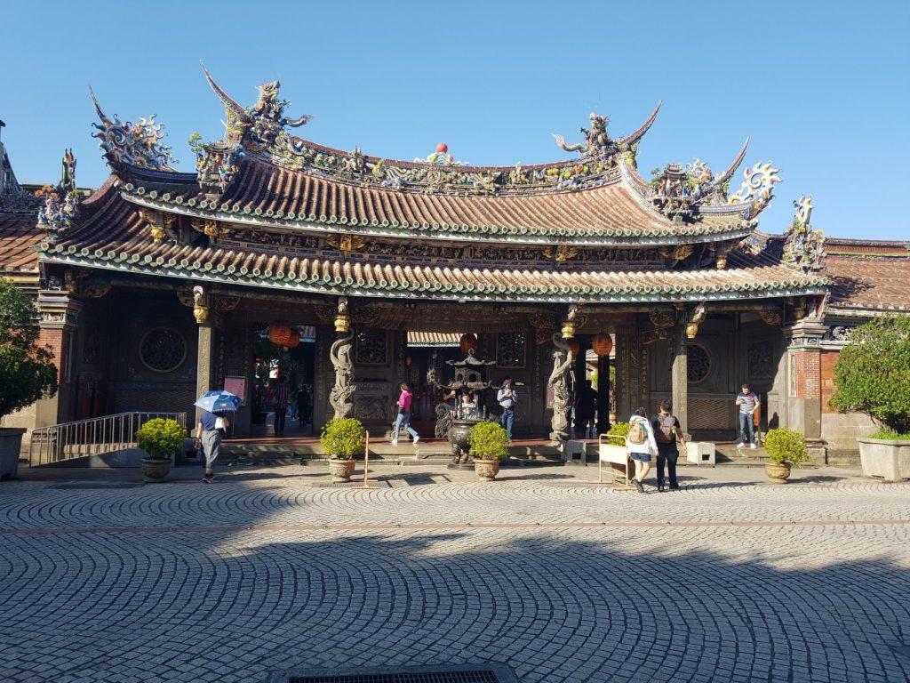 Baoan Temple Garden, Taipei - Voyage à Taiwan