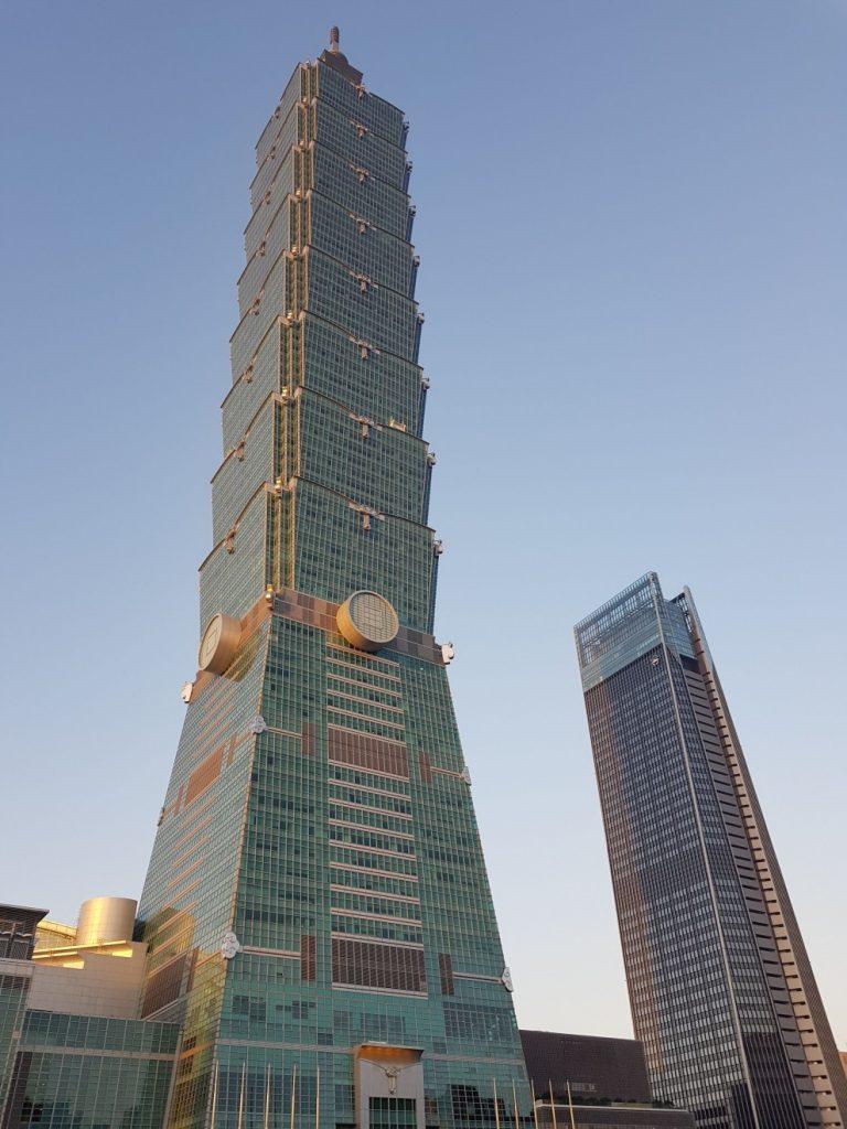 Visitr Taipei et son fameux gratte ciel