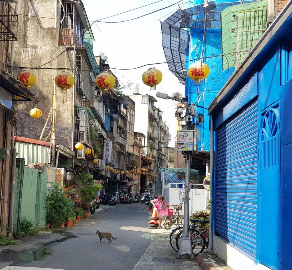 Wan Hua, vieux quartier de Taipei, Taiwan