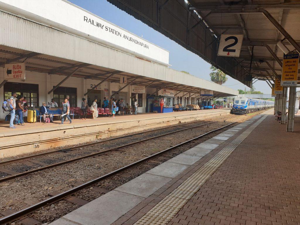 Vieille gare d'Anuradhapura