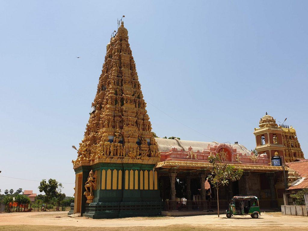 temple hindou, péninsule de Jaffna, Sri Lanka