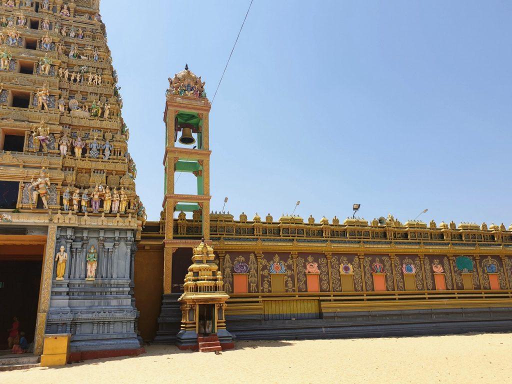 Temple, péninsule de Jaffna