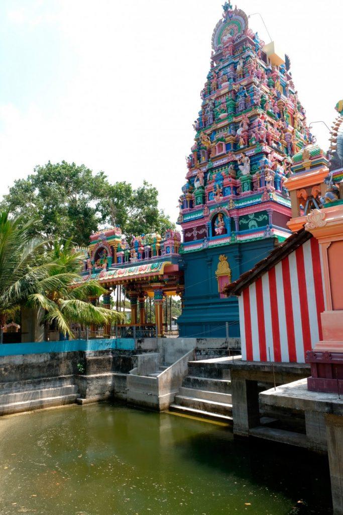 Temple Karainagar, péninsule de Jaffna, Sri Lanka
