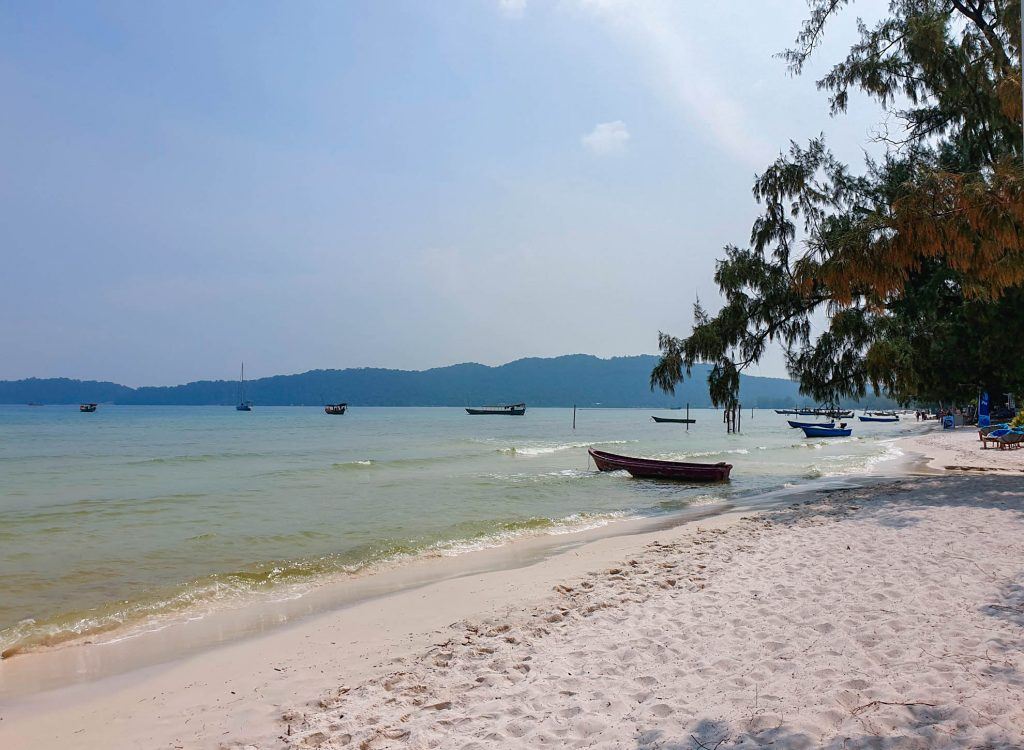Koh Rong Samloem : Saracen Bay