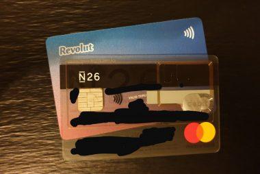 Cartes bancaires Revolut, N26